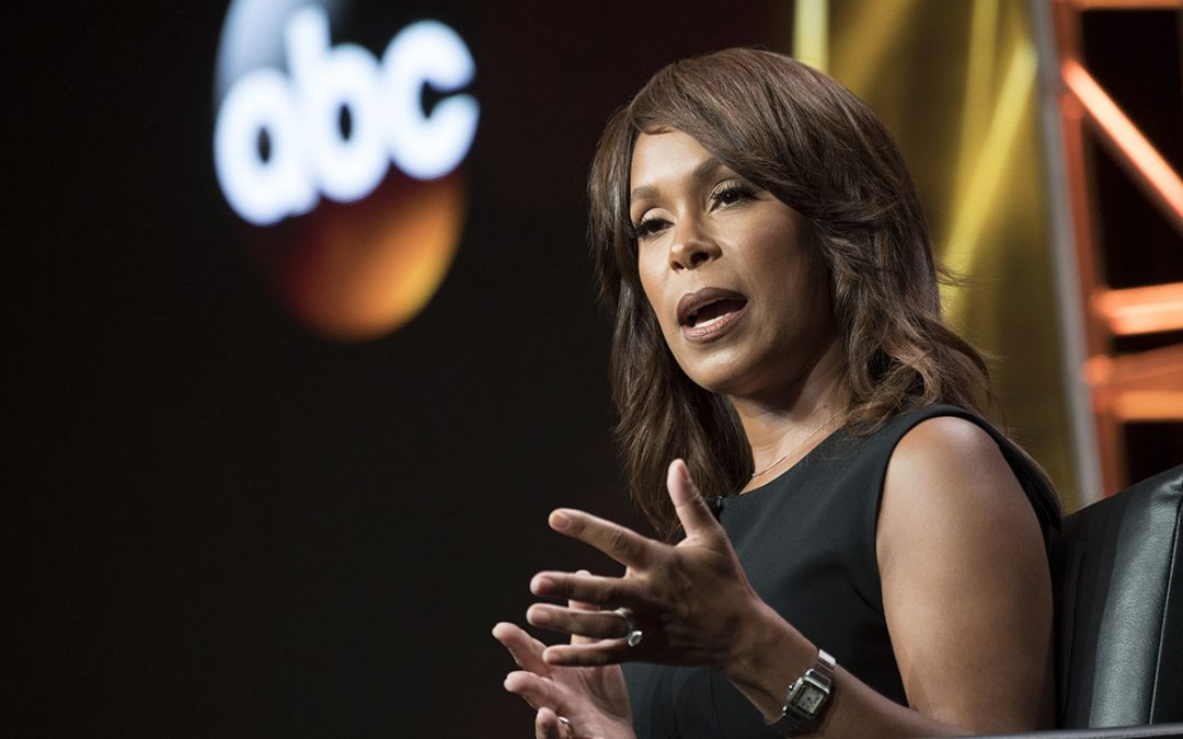 I am a Woman.  Channing Dungey Tosses Rosanne Barr Out After Ape Attack.