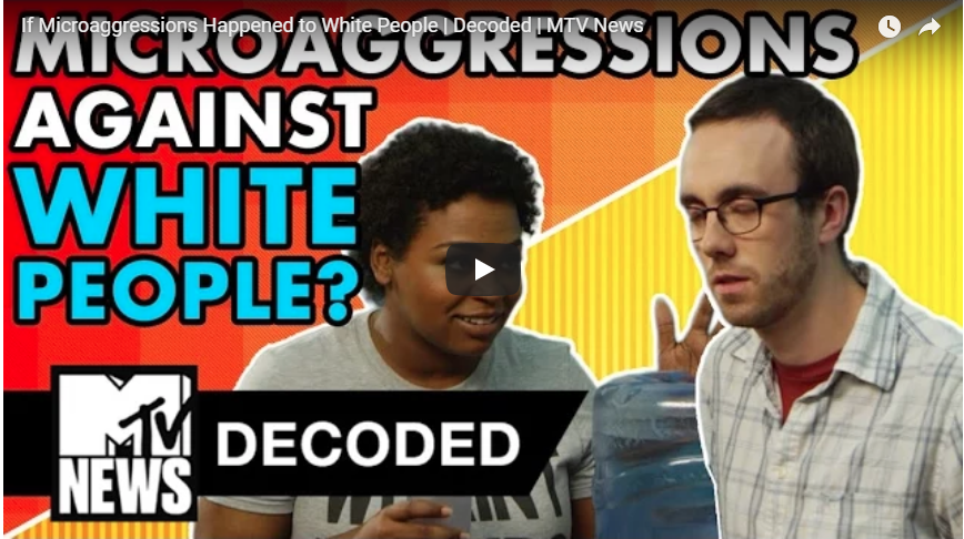 Microaggressions Against White People?