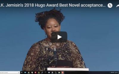 N.K. Jemisin's Acceptance Speech for Best Novel is EVERYTHING