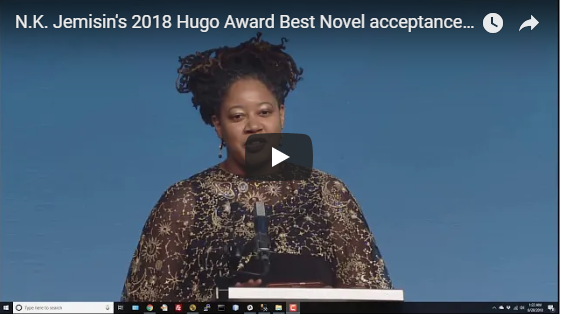 N.K. Jemisin's Acceptance Speech for Best Novel is EVERYTHING