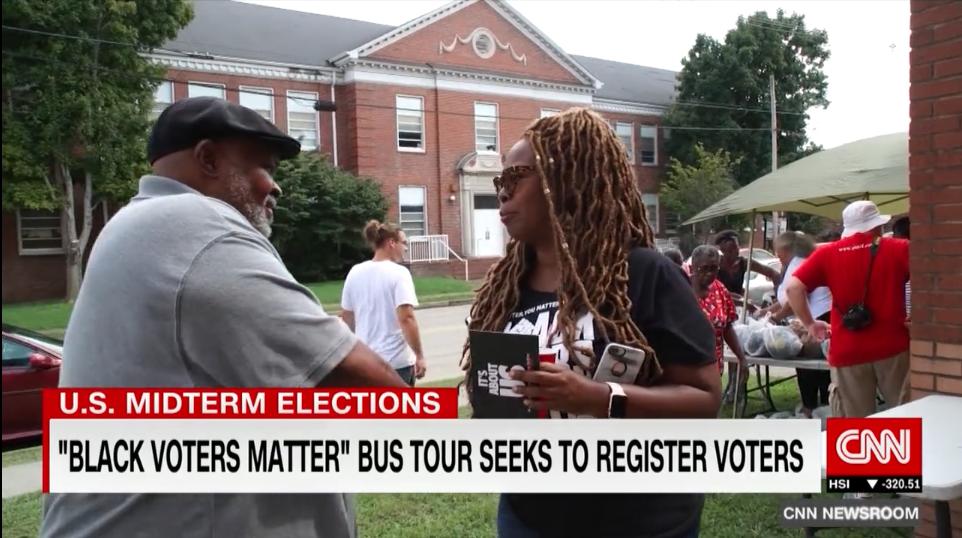 Black Voters Matter Bus Tour