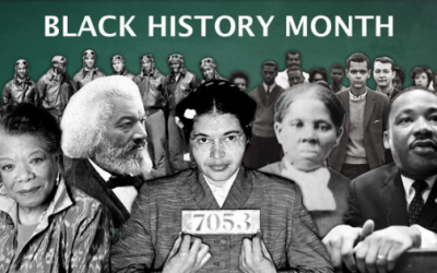 It's February – Happy Black History Month!