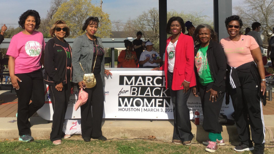 Calling All Black Women! The 2nd Annual March for Black Women Houston is March 16th.