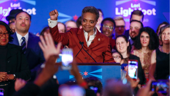 Lori Lightfoot Makes History by Becoming the First Black Woman Mayor of Chicago