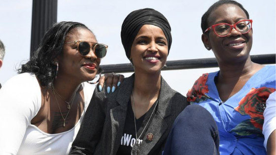 Supporting Rep. Ilhan Omar and Black Women in Office